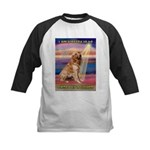 Blessed Golden Kids Baseball Jersey
