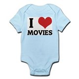 I Love Movies Infant Creeper