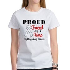 ProudFriendLungCancer Hero Tee