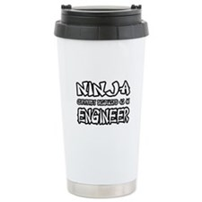 """Ninja...Engineer"" Ceramic Travel Mug"