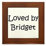 Funny Bridget Framed Tile