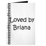 Cute Briana Journal