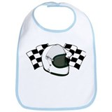 Helmet & Flags Bib