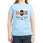Peace Love Tea Women's Light T-Shirt