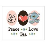 Peace Love Tea Small Poster