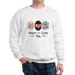 Peace Love Tea Sweatshirt