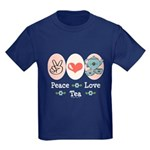Peace Love Tea Kids Dark T-Shirt