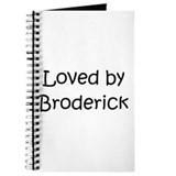 Cute Broderick Journal