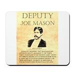 Joe Mason Mousepad