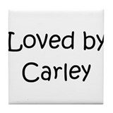 Cute Carley Tile Coaster