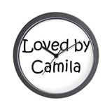 Cute Camila Wall Clock