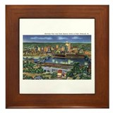 Pittsburgh PA Framed Tile