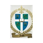 NAUD Family Crest Rectangle Magnet (10 pack)