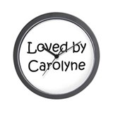 Cute Carolyn Wall Clock