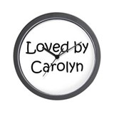 Unique Carolyn Wall Clock