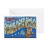 Philadelphia PA Greeting Cards (Pk of 20)