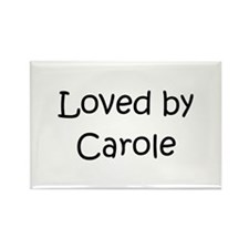Caroling kids Rectangle Magnet (100 pack)