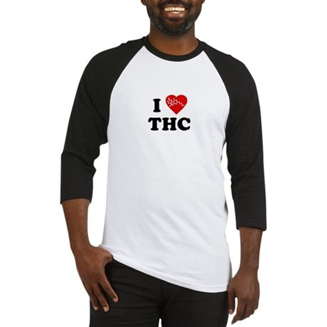 I Love [Heart] THC Baseball Jersey