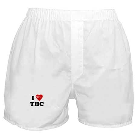 I Love [Heart] THC Boxer Shorts