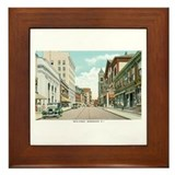 Woonsocket RI Framed Tile