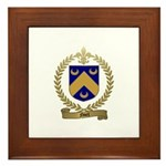 NOEL Family Crest Framed Tile