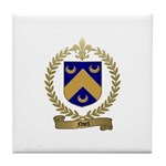 NOEL Family Crest Tile Coaster