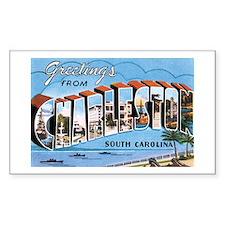 Charleston SC Rectangle Decal