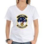 86th FTR WPNS SQ Women's V-Neck T-Shirt