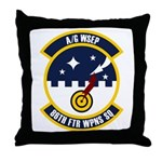 86th FTR WPNS SQ Throw Pillow