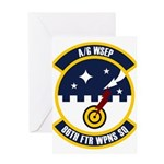 86th FTR WPNS SQ Greeting Card