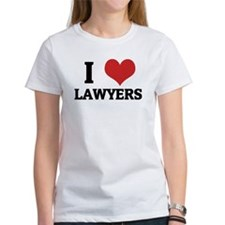 I Love Lawyers Tee