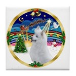 XmasMusic 3/Am Eskimo #3 Tile Coaster