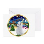 XmasMusic 3/Am Eskimo #3 Greeting Cards (Pk of 10)