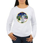 XmasMusic 3/Am Eskimo #3 Women's Long Sleeve T-Shi