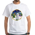 XmasMusic 3/Am Eskimo #3 White T-Shirt