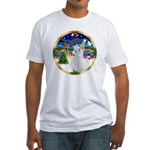 XmasMusic 3/Am Eskimo #3 Fitted T-Shirt