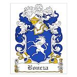 Boncza Family Crest Small Poster
