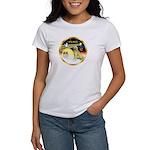 XmasDove/Golden #1B Women's T-Shirt