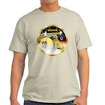 XmasDove/Golden #1B Light T-Shirt