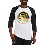 XmasDove/Golden #1B Baseball Jersey