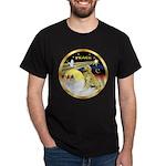 XmasDove/Golden #1B Dark T-Shirt