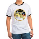 XmasDove/Golden #1B Ringer T