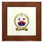 NORMAND Family Crest Framed Tile