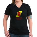 MACV Women's V-Neck Dark T-Shirt