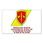 MACV Rectangle Sticker 10 pk)