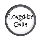 Cute Celia Wall Clock
