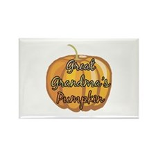 Great Grandma's Pumpkin Rectangle Magnet