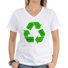 Puff Puff and Pass Recycle We Shirt