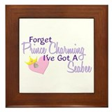Forget Prince Charming - Seabee Framed Tile