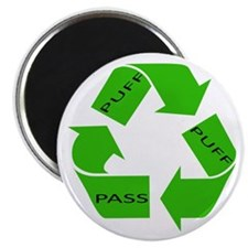 Puff Puff and Pass Recycle We Magnet